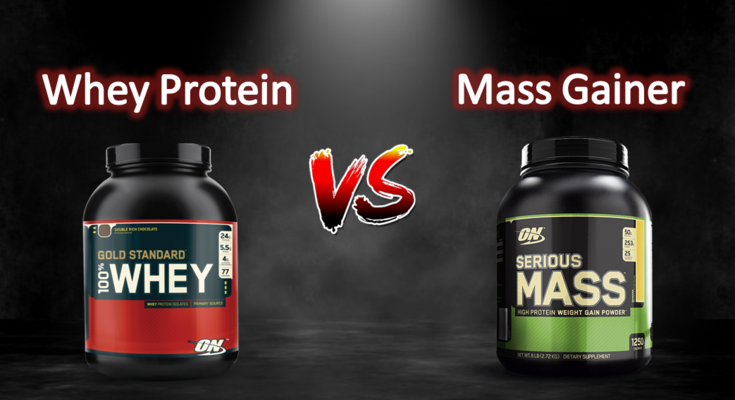 Weight Gainer vs. Mass Gainer