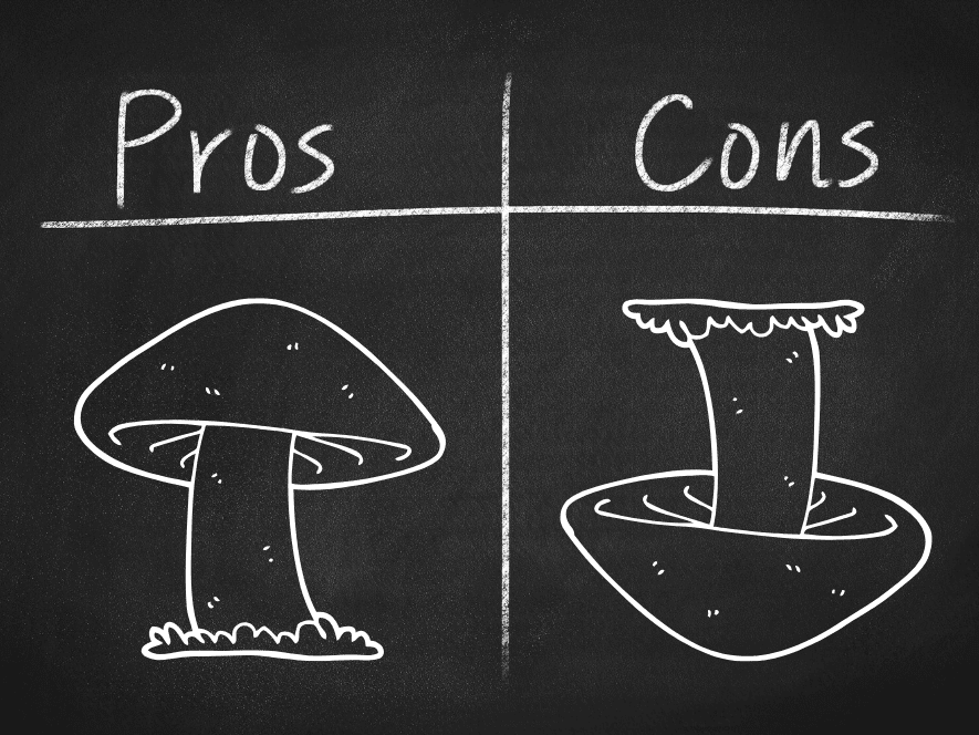 Mushrooms for Depression? The Pros and Cons