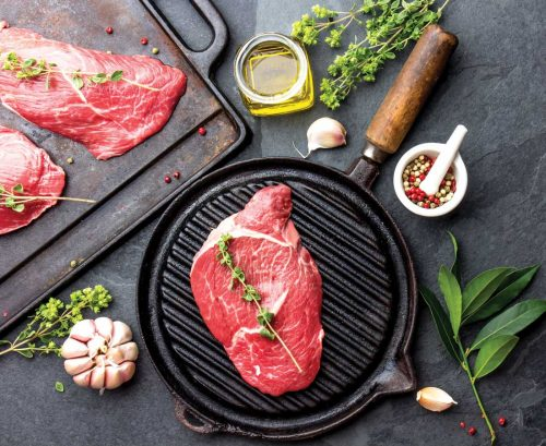How much meat is healthy to eat?
