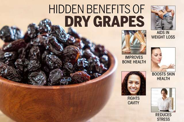 Dry Grapes Benefits and Uses for Health, Skin and Hair