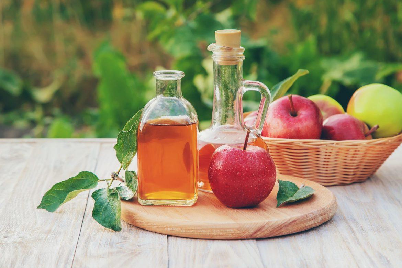 Apple cider vinegar in dietary supplements