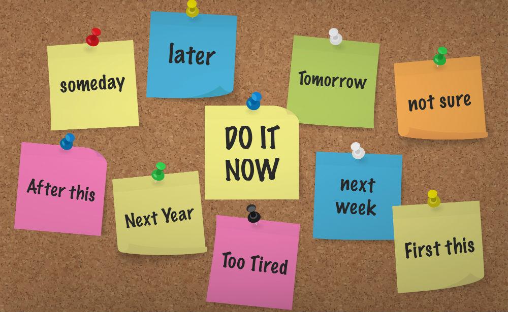 4 sure-fire ways to overcome fitness procrastination